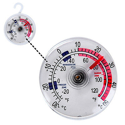 New Freezer Thermometer Easy To Read Hanging or Mounted Fridge UK
