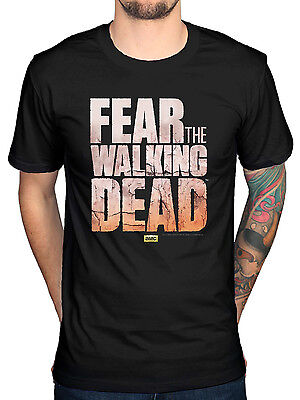 Official Fear The Walking Dead T-Shirt Andrew Lincoln No Sanctuary Rick Daryl