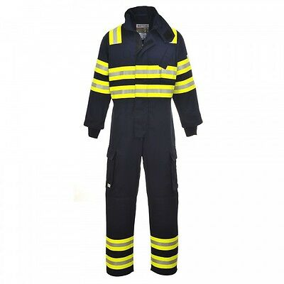 Wildland Navy Fire Flame Resistant Anti Static Coverall Overall Boilersuit