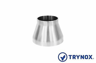 "SMS 3"" x 2"" Sanitary Stainless Steel 316L Concentric Reducer Trynox"