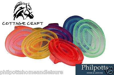 Cottage Craft Gel Curry Comb - Horse & Pony Grooming - J103  *BUY 2 SAVE 10%*