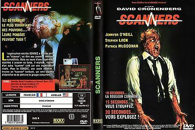 SCANNERS - FILM de David CRONENBERG avec Michael IRONSIDE -  1981 - 103 min