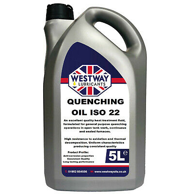 Quenching Oil ISO 22 5L 5 Litres Quench Oil
