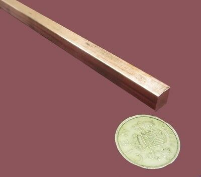 """1 Pcs 3//16/"""" Thick x 1 1//2/"""" Wide x 36 Inch Length 110 Copper Bar 1//2 Hard"""