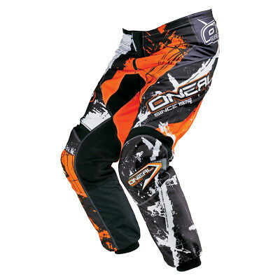 O'neal Element MX DH MTB Pant Hose lang Shocker schwarz/orange 2017