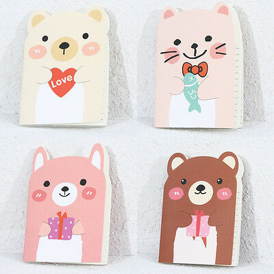 Cute Korean Kawaii Cartoon Animal Pocket Notebooks Notepad Memo Pad
