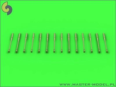 Master Model 1:72 Machined Metal MiG Jet Static Dischargers 14pc #AM72068