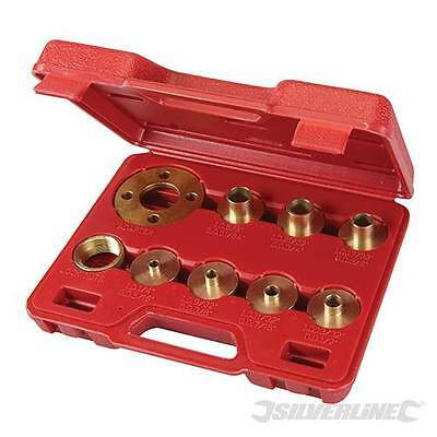 Router Guide Bush Set Adaptor Template Plate Included Kit 10 Piece