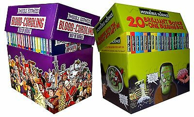 Horrible Collection 40 Books Gift Box Set Histories Science