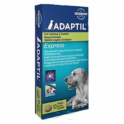 Adaptil Express Stress Relief Calming Tablets For Dogs x 10