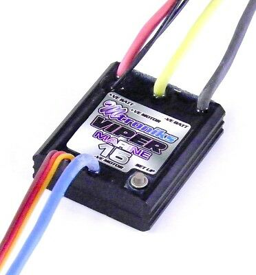 Mtroniks Viper 15A Marine ESC Speed Controller for RC Boats - Waterproof