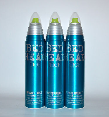 Tigi Bed Head Masterpiece 3x340ml Haarspray für massiven Glanz
