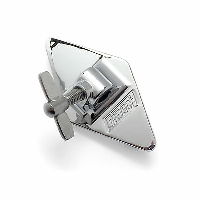 Gretsch Vintage Diamond Plate Floor Tom Bracket - Chrome