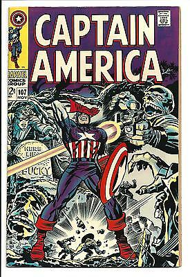 Captain America # 107 (Nov 1968), Vf