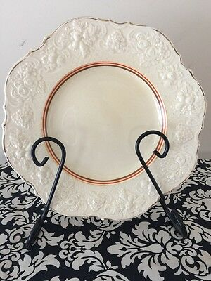Vintage Crown Ducal Plate 22cm Very Good Condition