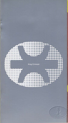 KING CRIMSON 1995 Tour Concert Program Programme