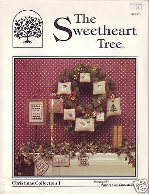 The Sweetheart Tree Christmas Collection cross stitch patterns - 1990