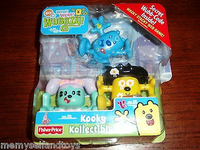 Wow Wow Wubbzy Figures Lavender Lollipops Daisy Sheriff Egg Wubbzy Fishy Fun 3+