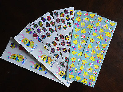 Lot of 162 Easter Sandylion Stickers Chicks Eggs Basket Bunny Colourful Cute