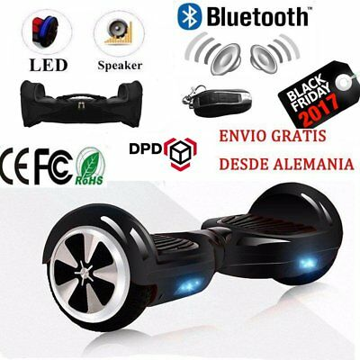 "6.5"" Electrico Patinete Scooter Hoverboard Skateboard Self balancing Patín Bolso"