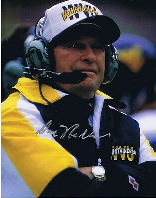 DON NEHLEN SIGNED AUTOGRAPHED 8x10 - West Virginia Mountaineers