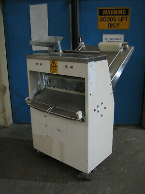 Industrial Commercial Double Loaf Bread Slicer