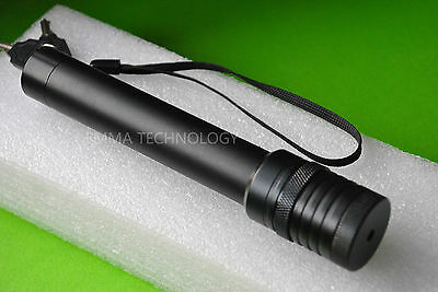 Super Powerful 532nm Green Laser Pointer Torch Focusable