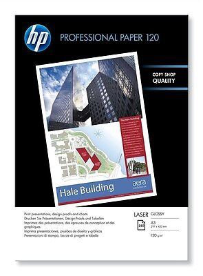 HP Professional (A3) 120g/m2 Glossy Laser Paper (White) 1 Pack of 250 Sheets
