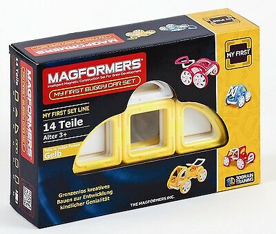 Magformers - My First Buggy GELB Konstruktionsmaterial (274-42)