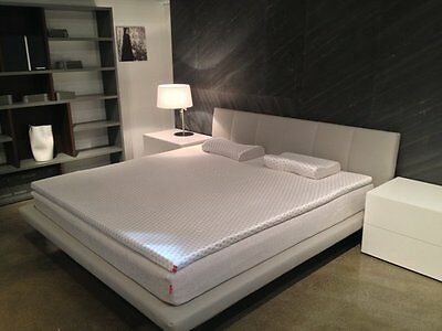 cal king danican cool pointe gel memory foam mattress topper wventilation - California King Memory Foam Mattress