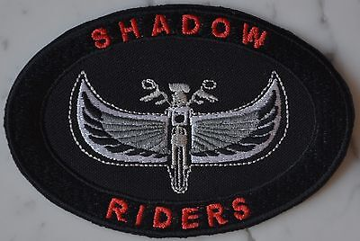 SHADOW Riders PATCH Aufnäher Parche brodé honda patche toppa Biker Owners Club