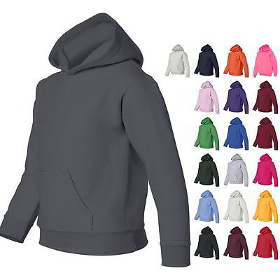 Gildan Heavy Blend Youth Boys & Girls Pullover Hoodie Sweatshirts 18500B