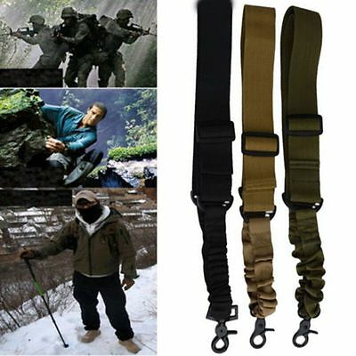 Adjustable Hunting 1 One Single Point  Bungee Sling System Strap
