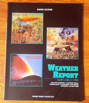 Weather Report Best - JAPAN BAND SCORE GUITAR TAB - Jaco Pastorius