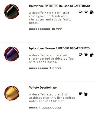 200 Decaf Nespresso Capsules (4 Varieties including 3 NEW decaf flavours)
