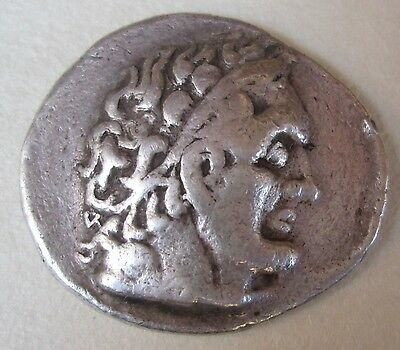 Roman Ptolemaic Tyre Mint Tetradrachm Silver Coin Archaeology Ptolemy