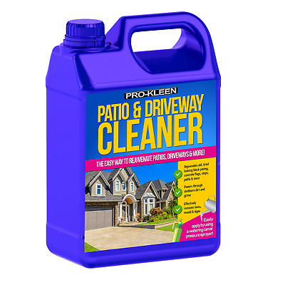 Patio Cleaner Moss Killer Stone Concrete Flags Path Block Paving Brick Drive
