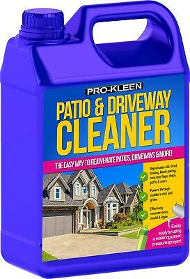 Patio Cleaner Stone Concrete Slabs Flags Path Block Paving Drive Cleaning Spray