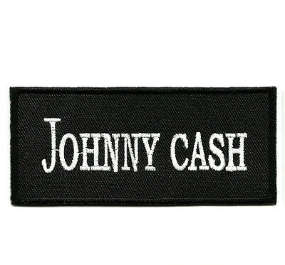 Patch Ecusson JOHNNY CASH - Rockabilly Country Rock'n'Roll SUN Walk The Line