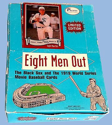 Vintage - 1988 - Pacific - Eight Men Out - Complete 36-Count Wax Box