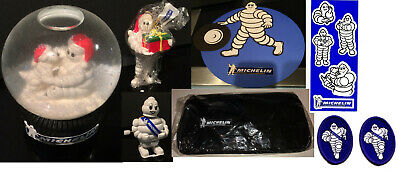 5 Michelin Man Stickers + Michelin Mans Dog Roll New Un Used Issued By Michelin