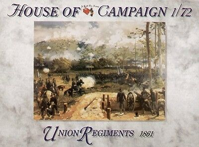 A Call to Arms Series 60 1/72 Union Regiments 1861
