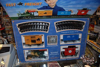 G Bachmann 90196 Lil Big Haulers Fast Freight Train Set * NIB