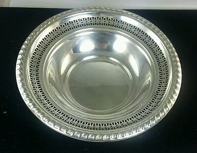La Pierre Antique Solid Sterling Silver Candy Dish
