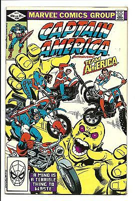 Captain America # 269 (1St Team America, May 1982), Nm