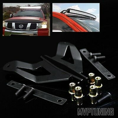 "For 04-15 Nissan Titan/Armada 50"" Curve 288W LED Light Bar Roof Mounting Bracket"