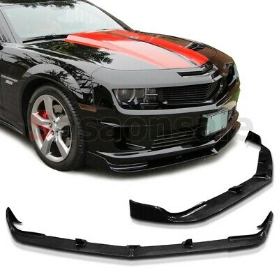 Made for 2010-2013 CHEVY CAMARO V8 SS STL Style USDM Front Bumper Lip - PU