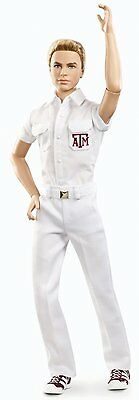 Barbie Collector Texas A&M University Ken Doll model number X9207 BRAND NEW