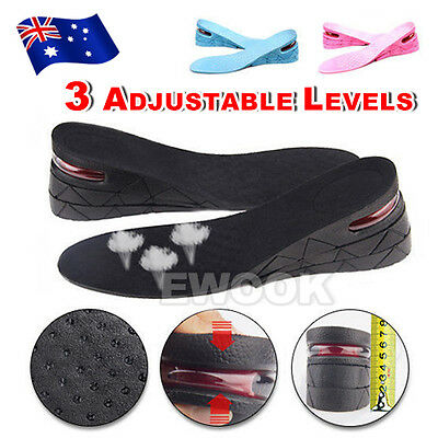 OZ New Air Cushion Increase Heel Unisex Adjustable Shoe Lift Height Insoles