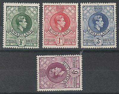 Swaziland 1938 Kgvi Range To 6D Perf 13.5 X13